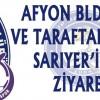 Afyon Belediye Başkanı ve Taraftardan Ziyaret