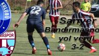 Sarıyer Bandırma'ya yol verdi. 3-2