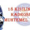 Sarıyer , Kayseri Erciyespor Maç Kadrosu