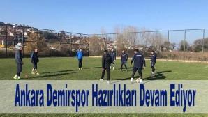 Ankara Demirspor Hazırlıkları Devam Ediyor.