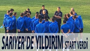 SARIYER'DE YILDIRIM START VERDİ