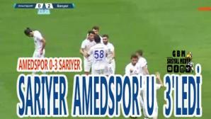 SARIYER AMEDSPOR'U 3'LEDİ